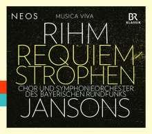 Wolfgang Rihm (geb. 1952): Requiem-Strophen für Solisten, gemischten Chor & Orchester, SACD