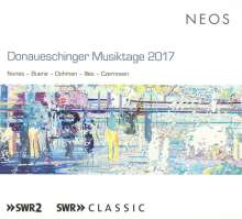 Donaueschinger Musiktage 2017, 2 Super Audio CDs