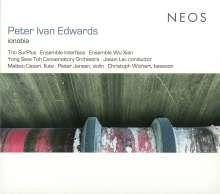 "Peter Ivan Edwards (geb. 1973): Kammermusik ""Ionobia"", CD"