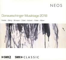 Donaueschinger Musiktage 2018, 2 Super Audio CDs