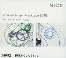 Donaueschinger Musiktage 2019, Super Audio CD