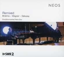 GrauSchumacher Piano Duo - Remixed, CD