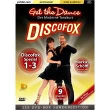 Get the Dance - Discofox Teil 1-3, 3 DVDs