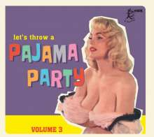 Pajama Party Vol.3, CD