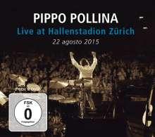 Pippo Pollina: Live At Hallenstadion Zürich 2015, 2 CDs und 1 DVD