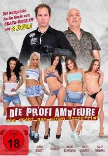 Die Profi-Amateure - Wie dreht man einen Pornofilm?, 2 DVDs