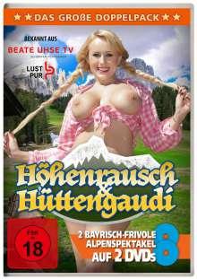 Höhenrausch / Hüttengaudi (2 bayrisch-frivole Alpenspektakel), 2 DVDs