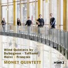 Monet Quintett - Wind Quintets, CD