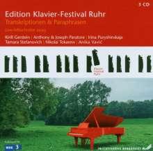 Edition Klavier-Festival Ruhr  Vol.9 - Transkriptionen & Paraphrasen, 3 CDs