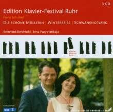 Edition Klavier-Festival Ruhr Vol.12 - Die schöne Müllerin / Winterreise / Schwanengesang, 3 CDs