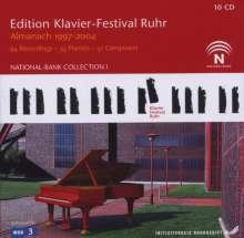 Edition Klavier-Festival Ruhr Vol.1-8 - Almanach 1997-2004, 10 CDs
