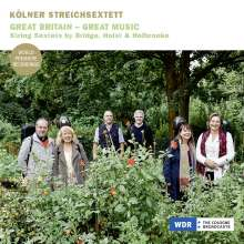 Kölner Streichsextett - Great Britain - Great Music, CD