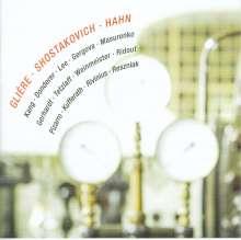 Reinhold Gliere (1875-1956): Streichoktett op.5, CD