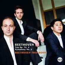Ludwig van Beethoven (1770-1827): Symphonie Nr.2 (Fassung vom Komponisten für Klaviertrio), CD