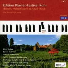 Edition Klavier-Festival Ruhr Vol.23 - Händel, Mendelssohn & Neue Musik, 3 CDs
