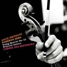 Ludwig van Beethoven (1770-1827): Streichquartett Nr.11 für Streichorchester, CD