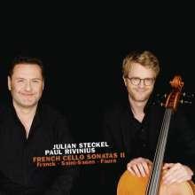 Julian Steckel - French Cello Sonatas Vol.2, CD