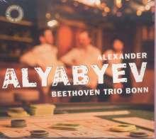 Alexander Alyabiev (1787-1851): Klaviertrio Es-dur (unvollendet), CD