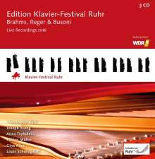 Edition Klavier-Festival Ruhr Vol.35 - Live Recordings 2016, 3 CDs