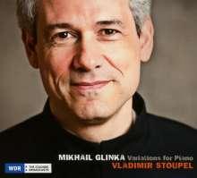 Michael Glinka (1804-1857): Variationen für Klavier, CD