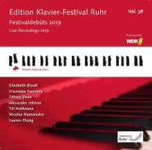 Edition Klavier-Festival Ruhr Vol.38 - Live Recordings 2019, 3 CDs