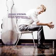 Julian Steckel spielt Cellokonzerte (mit CAvi-Gesamtkatalog 2015), CD