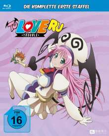 To Love Ru: Trouble Staffel 1 (Gesamtausgabe) (Blu-ray), 6 Blu-ray Discs