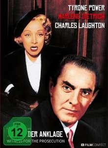 Zeugin der Anklage (1957) (Blu-ray im Mediabook), Blu-ray Disc