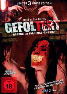 Gefoltert - Horror im Frauengefängnis (Limited Edition), 3 DVDs