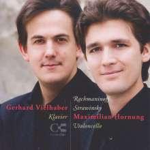 Maximilian Hornung - Rachmaninoff & Strawinsky, CD