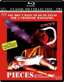 Pieces - Stunden des Wahnsinns (Blu-ray), Blu-ray Disc
