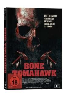 Bone Tomahawk (Blu-ray & DVD im Mediabook), 1 Blu-ray Disc und 1 DVD