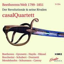 Casal Quartett - Beethovens Welt 1799-1851, 5 CDs