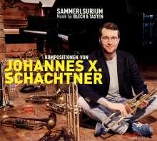 """Johannes X. Schachtner (geb. 1985): Kammermusik - """"Sammelsurium"""", CD"""