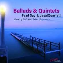 Fazil Say (geb. 1970): Balladen op.12 Nr.1-3 für Klavierquintett, CD
