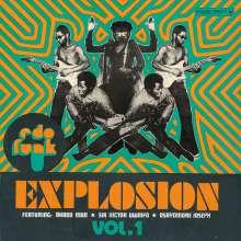 Edo Funk Explosion Vol.1, CD