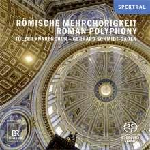 Tölzer Knabenchor - Römische Mehrchörigkeit, Super Audio CD