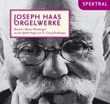 Joseph Haas (1879-1960): Orgelwerke, CD