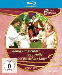 Sechs auf einen Streich - Märchenbox Vol. 1 (Blu-ray), 1 Blu-ray Disc und 2 DVDs