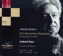 Johannes Brahms (1833-1897): Ein Deutsches Requiem op.45, CD