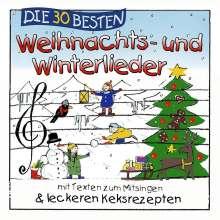 Weihnachts-CD: Die 30 besten Weihnachts- und Winterlieder, CD