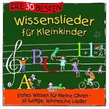 Simone Sommerland: Die 30 besten Wissenslieder für Kleinkinder, CD