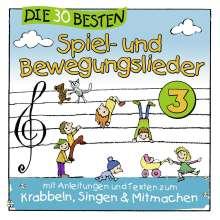 Simone Sommerland: Die 30 besten Spiel- und Bewegungslieder Vol. 3, CD