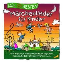 Die 30 besten Märchenlieder für Kinder, CD