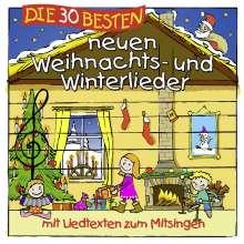 Sommerland, S./Glück, K.& Kita-Frösche, Die: Die 30 Besten Neuen Weihnachts-Und Winterlieder, CD