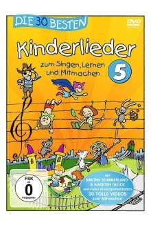 Die 30 besten Kinderlieder 5, DVD