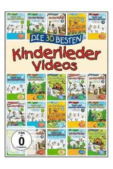 Die 30 besten Kinderlieder Videos, DVD