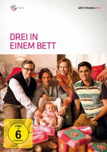 Drei in einem Bett, DVD