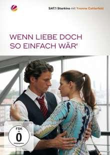 Wenn Liebe doch so einfach wär', DVD