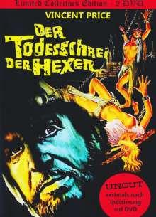 Der Todesschrei der Hexen (Mediabook), 2 DVDs